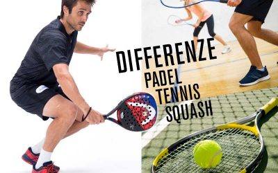 Differenze tra padel, tennis e squash